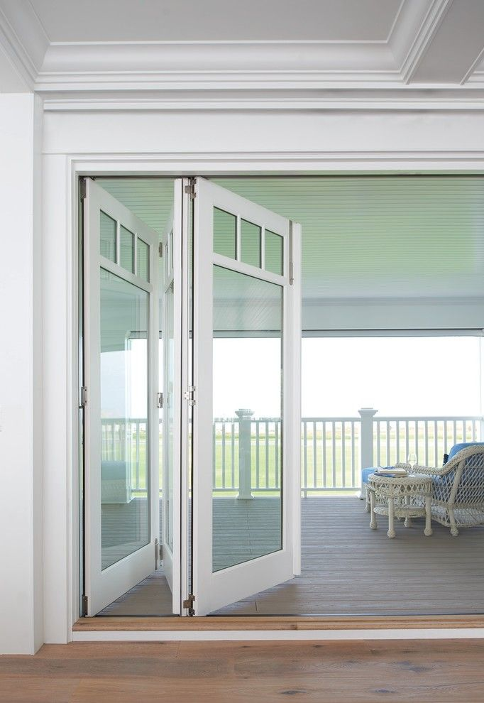 Home Depot Deck Designer for a Contemporary Patio with a Folding Glass Doors and Marvin Windows and Doors by Marvin Windows and Doors