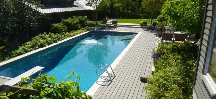 Home Depot Deck Designer for a Contemporary Pool with a Pool and CONTEMPORARY UPDATED by THOMAS KYLE:  Landscape Designer