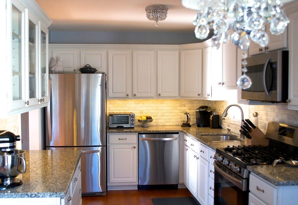 Home Depot Dishwasher Installation for a Traditional Spaces with a Traditional and House Renovations by Annie