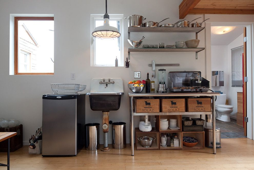 Home Depot Fairfax for a Eclectic Kitchen with a Kitchen Cart and Ira Lippke by Ira Lippke