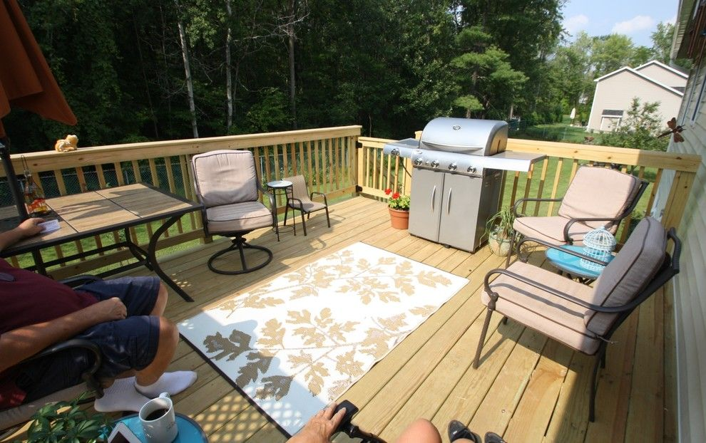 Home Depot Fairfax for a  Porch with a Design Build Firms and New Patio Project in Ny by Bennett Contracting, Inc.