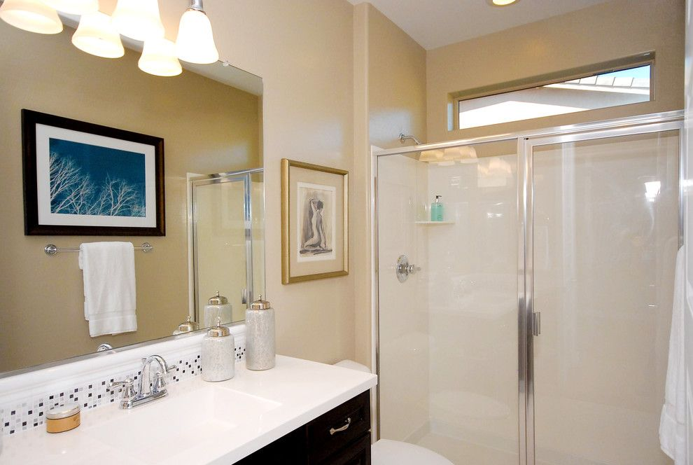 Home Depot Gilbert Az for a Contemporary Bathroom with a Shower Only and Inspire @ Marbella Vineyards   Gilbert, Az   4594   Excite Plan by Shea Homes   Arizona