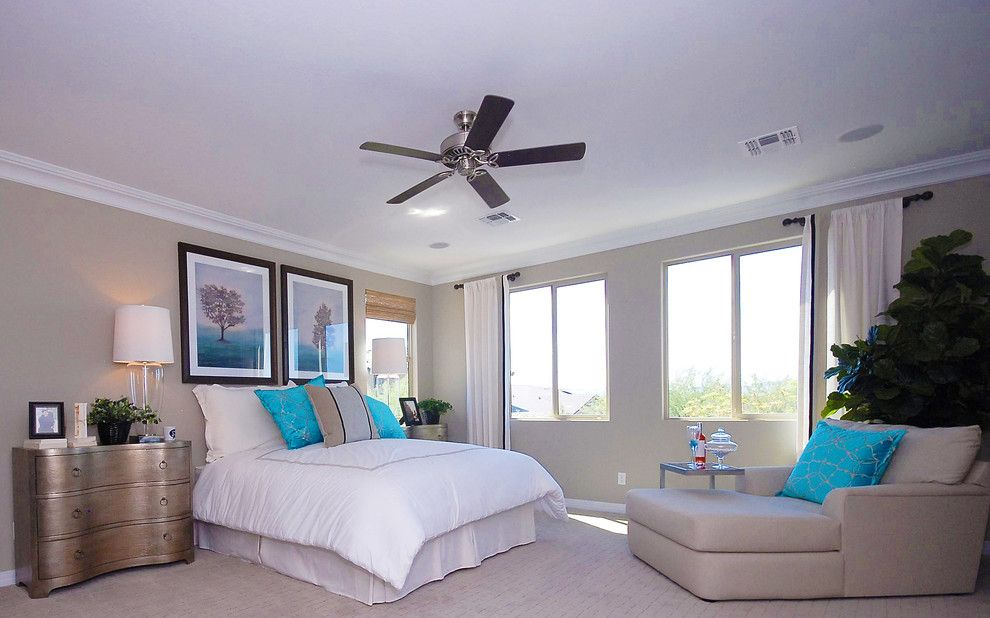 Home Depot Gilbert Az for a Contemporary Bedroom with a White Bed and Inspire @ Marbella Vineyards | Gilbert, Az | 4594   Excite Plan by Shea Homes   Arizona