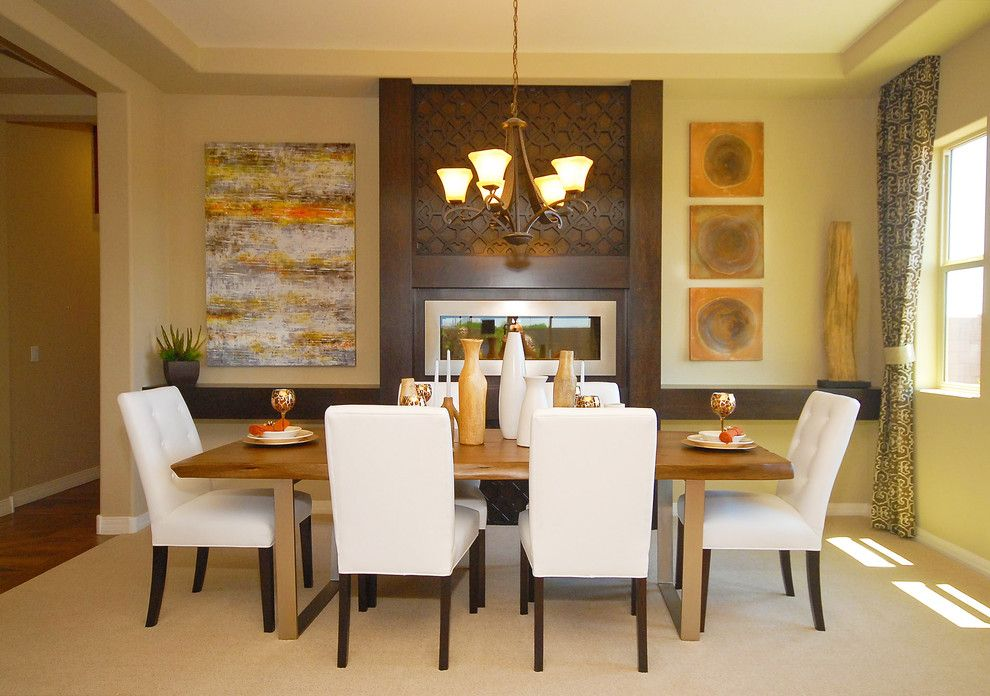 Home Depot Gilbert Az for a Contemporary Dining Room with a Brown Tones and Evolve @ Marbella Vineyards | Gilbert, Az | 5592  Renew Plan by Shea Homes   Arizona