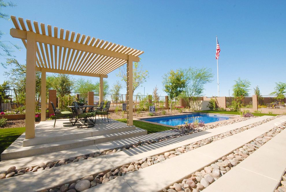 Home Depot Gilbert Az for a Contemporary Landscape with a Modern Landscape and Inspire @ Marbella Vineyards   Gilbert, Az   4594   Excite Plan by Shea Homes   Arizona