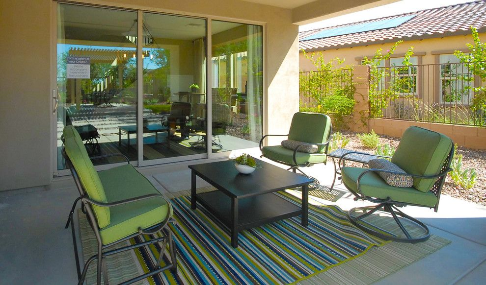 Home Depot Gilbert Az for a Contemporary Porch with a Green Outdoor Furniture and Inspire @ Marbella Vineyards | Gilbert, Az | 4594   Excite Plan by Shea Homes   Arizona