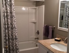 Home Depot Marietta Ga for a  Bathroom with a Hudson Valley Interior Design and Chatham Staging by Bespoke Decor