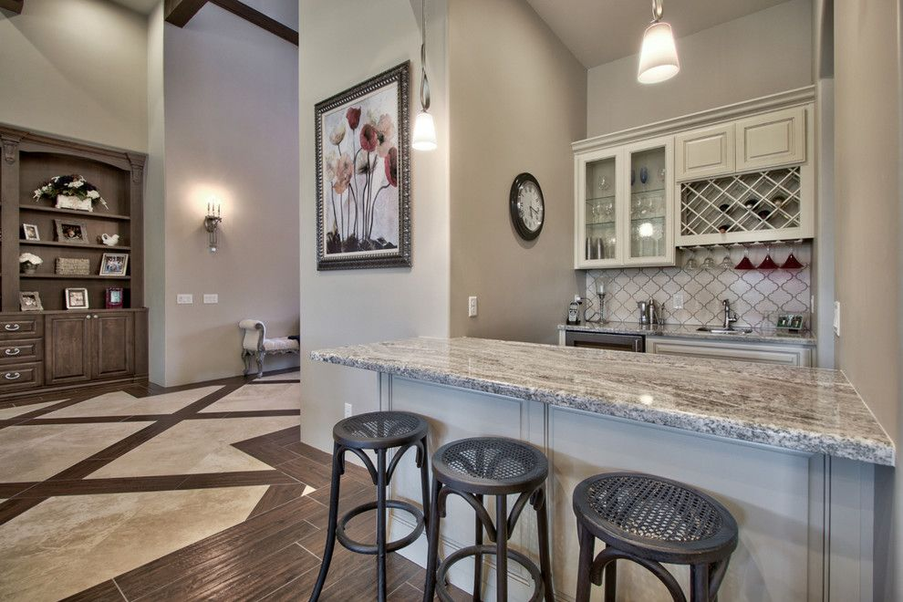 Home Depot Queen Creek for a Farmhouse Home Bar with a French and French Country Estate in the Pecans   Queen Creek, Az by I Plan, Llc   Architectural Design