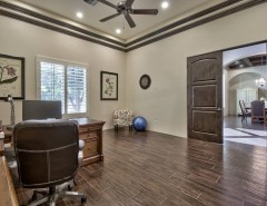 Home Depot Queen Creek for a Farmhouse Home Office with a French Country Farmhouse and French Country Estate in the Pecans - Queen Creek, AZ by I PLAN, LLC - Architectural Design