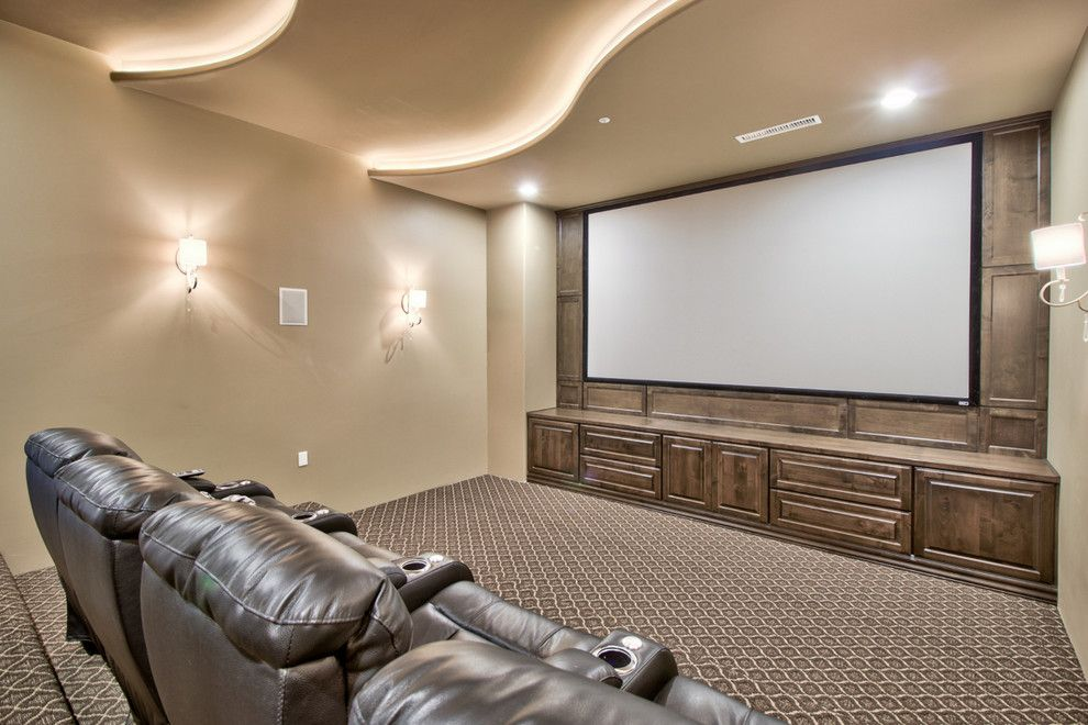 Home Depot Queen Creek for a Farmhouse Home Theater with a French Country Farmhouse and French Country Estate in the Pecans   Queen Creek, Az by I Plan, Llc   Architectural Design