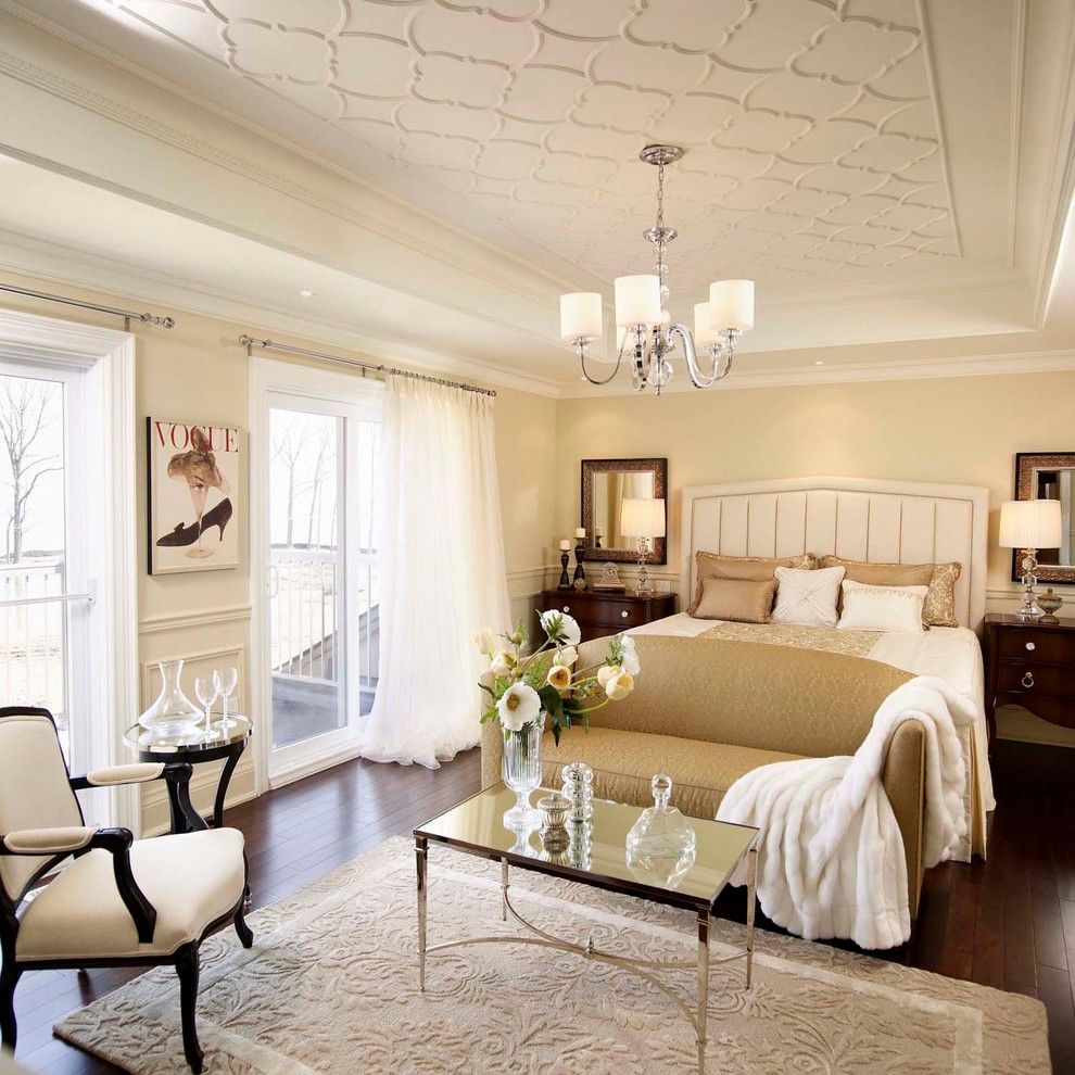 Home Depot Queen Creek for a Traditional Bedroom with a Nightstands and Regina Sturrock Design Classicism with a Twist by Regina Sturrock Design Inc.