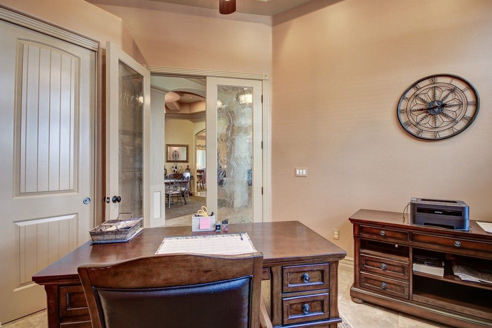 Home Depot Queen Creek for a Traditional Home Office with a Built in Desk and Circle G Queen Creek by Halo Development, Inc.