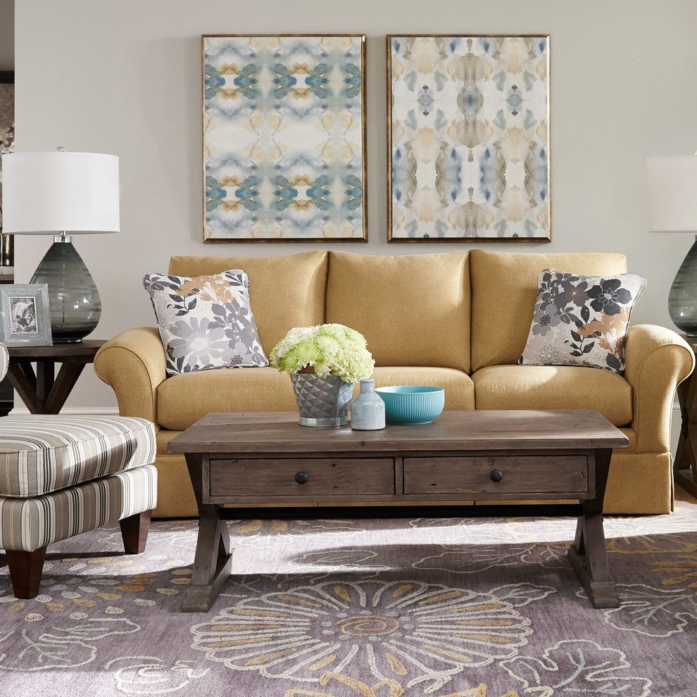 Home Goods Rockville for a Transitional Living Room with a Wall Art and La Z Boy by La Z Boy