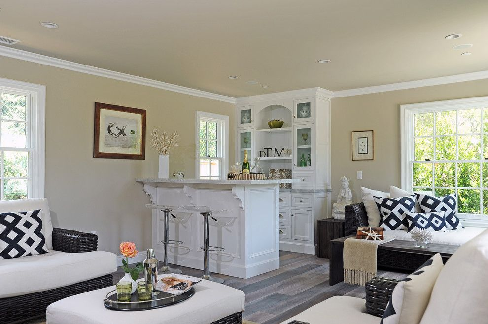 Homesmart Realty for a Traditional Family Room with a Black and White Throw Pillow and Traditional by Dtm Interiors