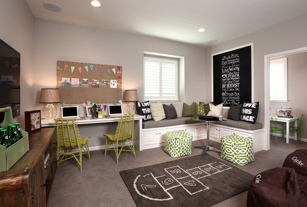 Hop Trellis for a Beach Style Kids with a Chalkboard Wall Art and Windrift at River Islands by Brookfield Residential Northern California