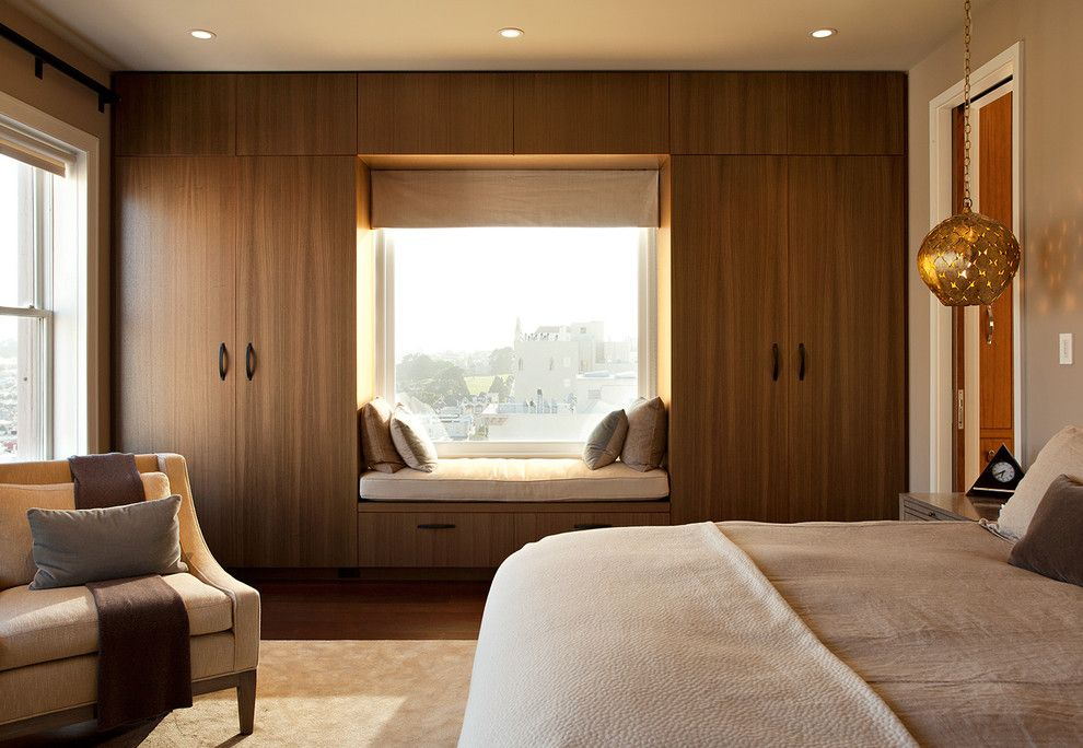 Horizon Retail Construction for a Modern Bedroom with a Ceiling Lighting and Pac Heights Penthouse by Matarozzi Pelsinger Builders