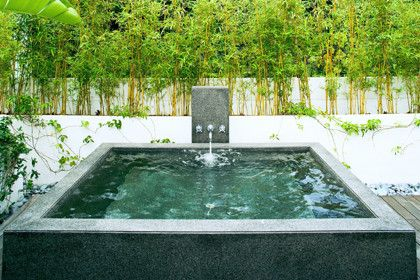 Hot Tubbing for a Modern Landscape with a Modern and Original Vision by Original Vision Limited