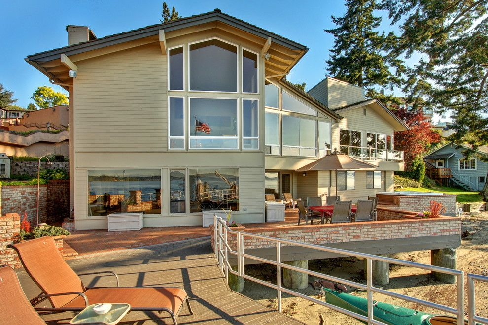 Hot Yoga Federal Way for a Contemporary Patio with a Contemporary Design and SOLD | Contemporary Redondo Waterfront | 200 SW 292nd St | Federal Way, WA by Ohrt Real Estate Group - Keller Williams