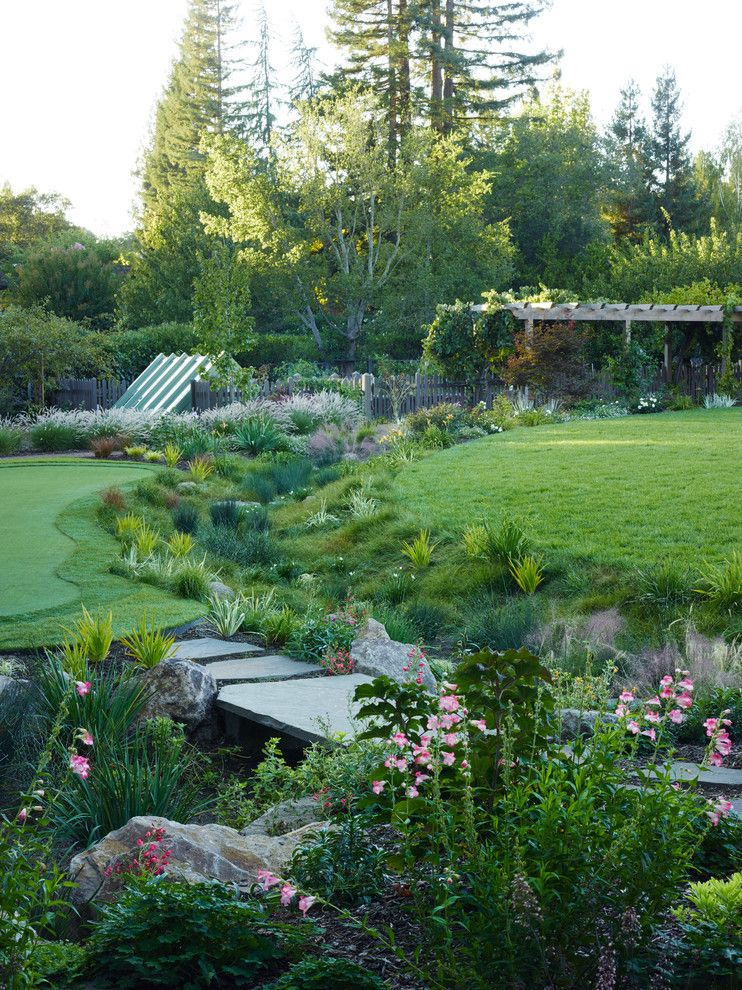 How Do Tankless Water Heaters Work for a Craftsman Landscape with a Lily and California Country by David Thorne Landscape Architect