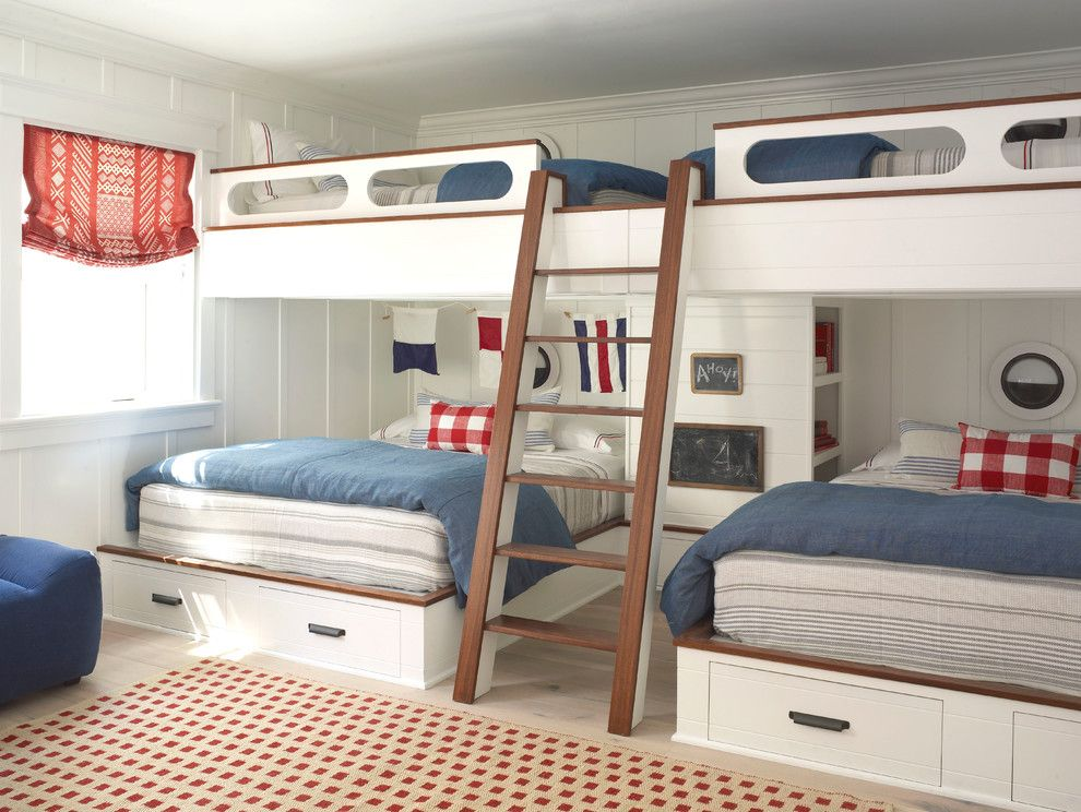 How Long is a Twin Xl Bed for a Beach Style Bedroom with a Full Beds and Coronado by Burnham Design