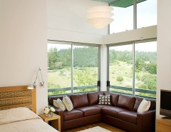 How to Clean a Shag Rug for a Contemporary Bedroom with a Clerestory Windows and New Modern Home Lagunitas by Kerr Construction, Inc.