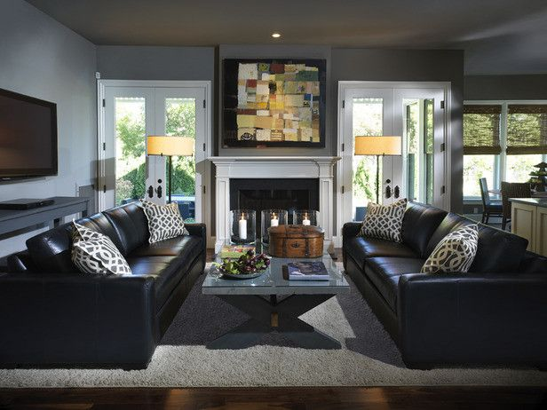 How to Clean Couch Cushions for a  Spaces with a  and Designer Living/family Rooms by Sarahdolce87