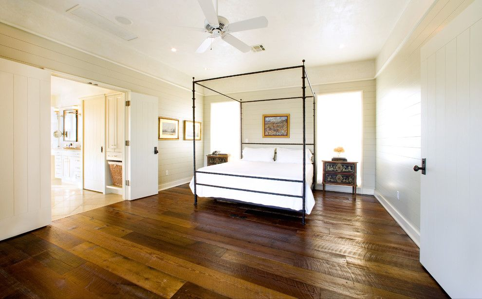 How to Clean Pergo Floors for a Rustic Bedroom with a Rustic and Angelwylde House by Webber + Studio, Architects