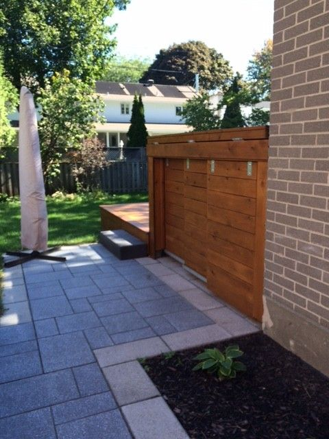 How to Fix Garbage Disposal for a Traditional Landscape with a Trash Recycling and Complete Facelift Job in Pointe Claire by Design Et RÉnovation Town & Country Inc.