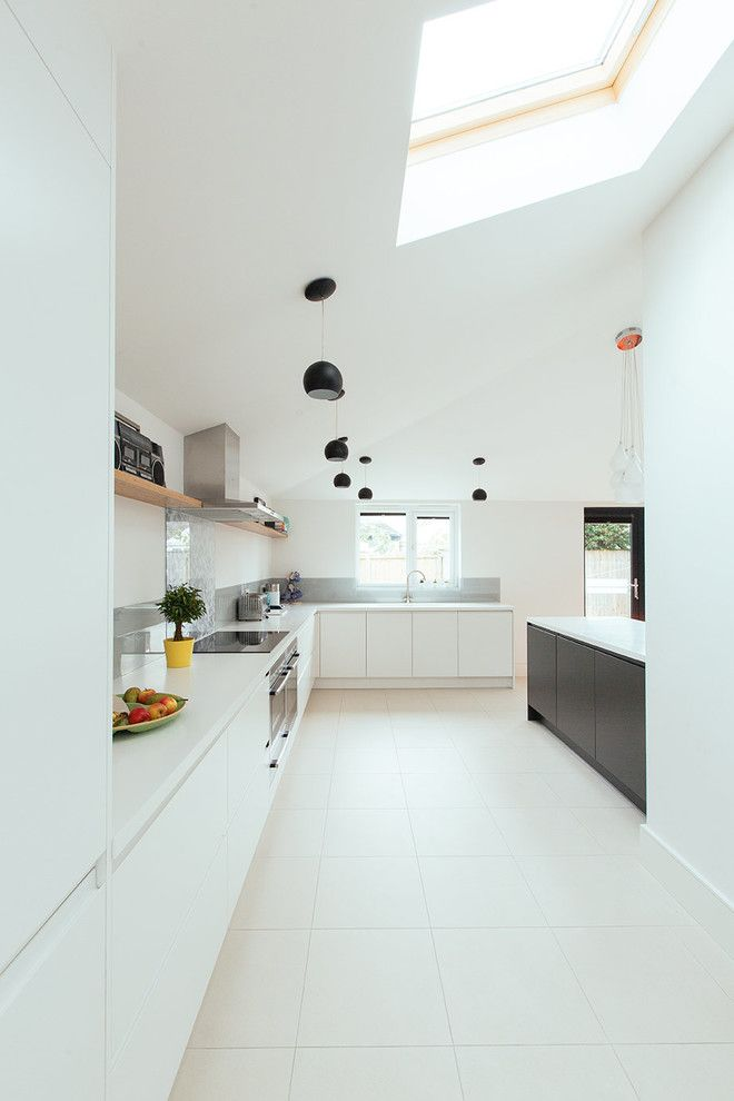 How to Get Rid of Ants in Kitchen for a Contemporary Kitchen with a White Worktop and Guiseley by Parkdesigned Architects