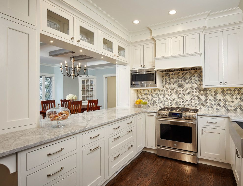 How to Get Rid of Ants in Kitchen for a Traditional Kitchen with a White Kitchen Cabinets and 925 Linden by Widler Architectural Inc.