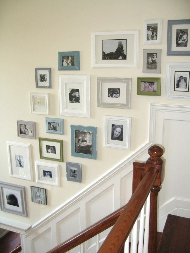 How to Get Rid of Cluster Flies for a Traditional Entry with a Diy and Picture Collage Wall by Sawdust Girl