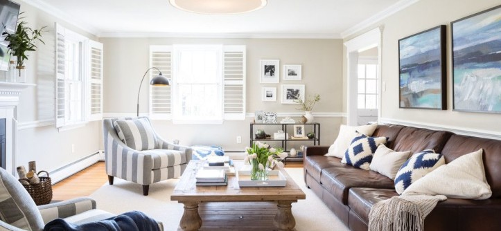 How to Get Rid of Mosquitoes in the House for a Transitional Living Room with a Vacation Home and a Family Friendly Living Room in Devon by Aliza Schlabach Photography