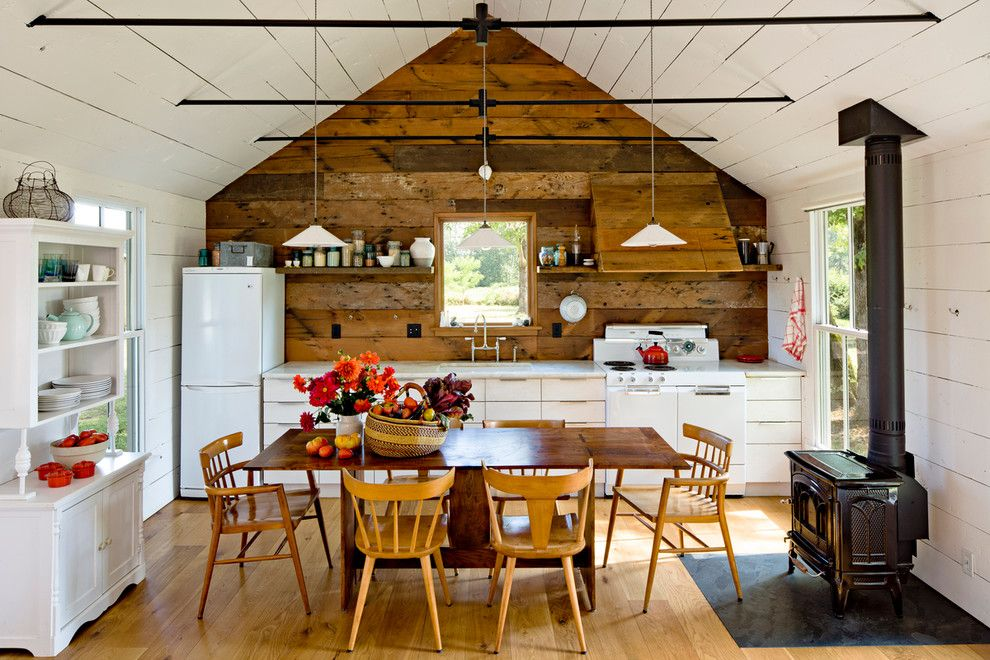 How to Get Rid of Mosquitoes in Your House for a Farmhouse Kitchen with a Vaulted Ceiling and Tiny House by Jessica Helgerson Interior Design