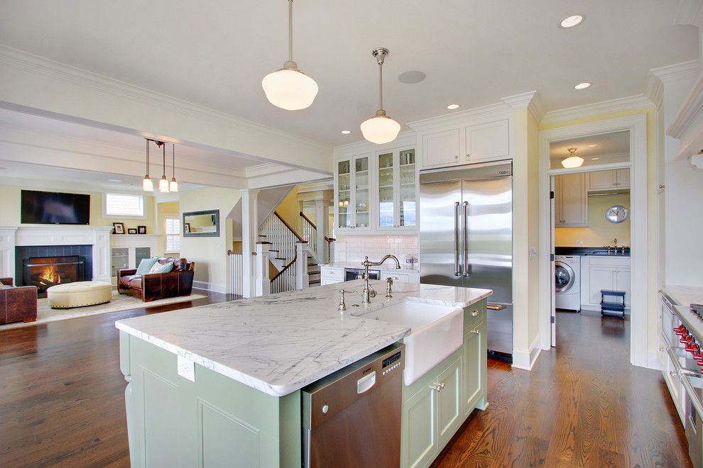 How to Get Rid of Mosquitoes in Your House for a Traditional Kitchen with a Yellow and Kirkland Traditional by Rw Anderson Homes