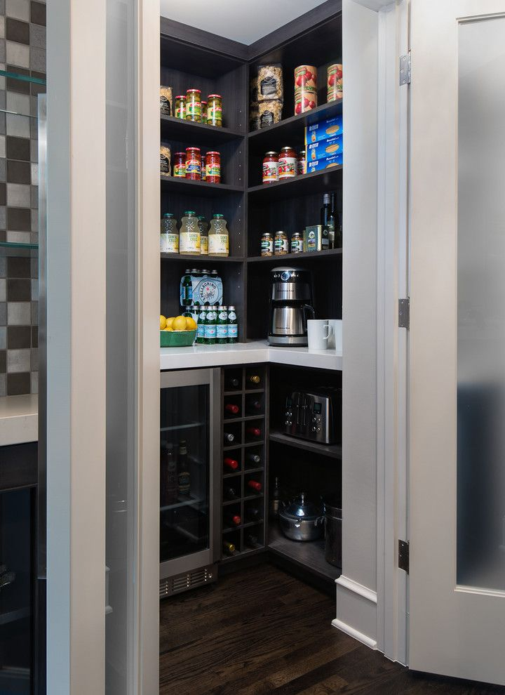 How to Get Rid of Moths in Pantry for a Contemporary Kitchen with a Wolf Range and Birmingham Urban Style Kitchen Remodel by Mainstreet Design Build