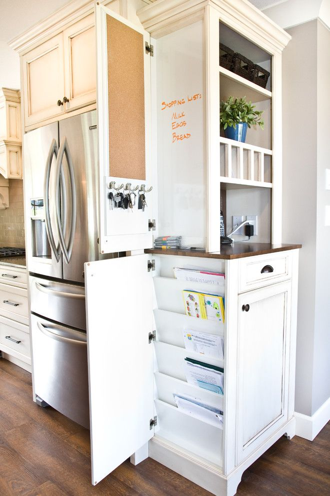 How to Get Rid of Moths in Pantry for a Traditional Kitchen with a Telephone Cabinet and Chilliwack Central by Starline Cabinets
