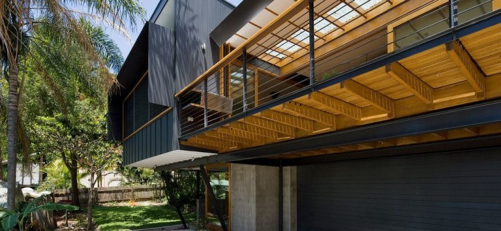 How to Get Skunk Smell Out of House for a Contemporary Garage with a Steel and Ozone House by Matt  Elkan Architect
