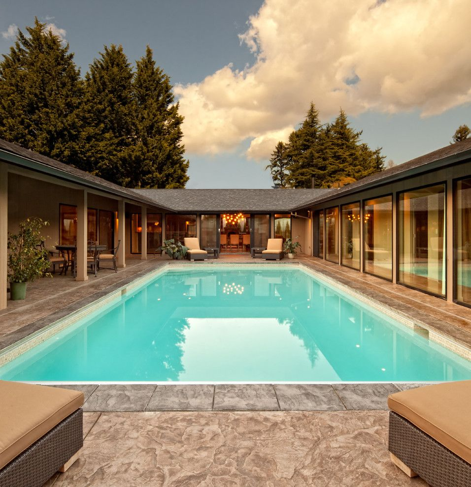 How to Get Skunk Smell Out of House for a Contemporary Pool with a Glass and Exterior by Giulietti Schouten Architects