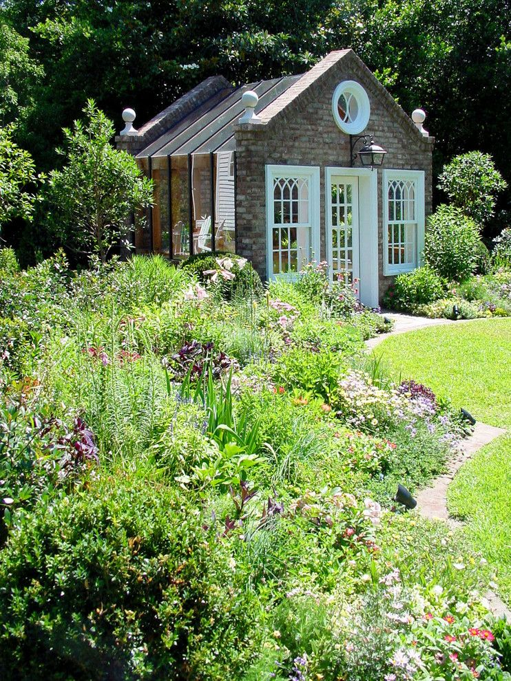 How to Get Skunk Smell Out of House for a Victorian Shed with a Lawn and Potting Shed at Augusta Residence by Cheatham Fletcher Scott Architects