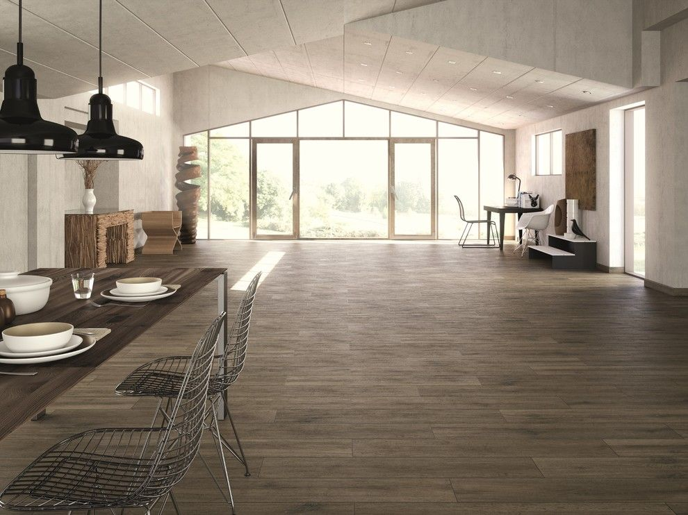 How to Install Porcelain Tile for a Industrial Spaces with a Interior and Industrial Chic by Floor & Decor