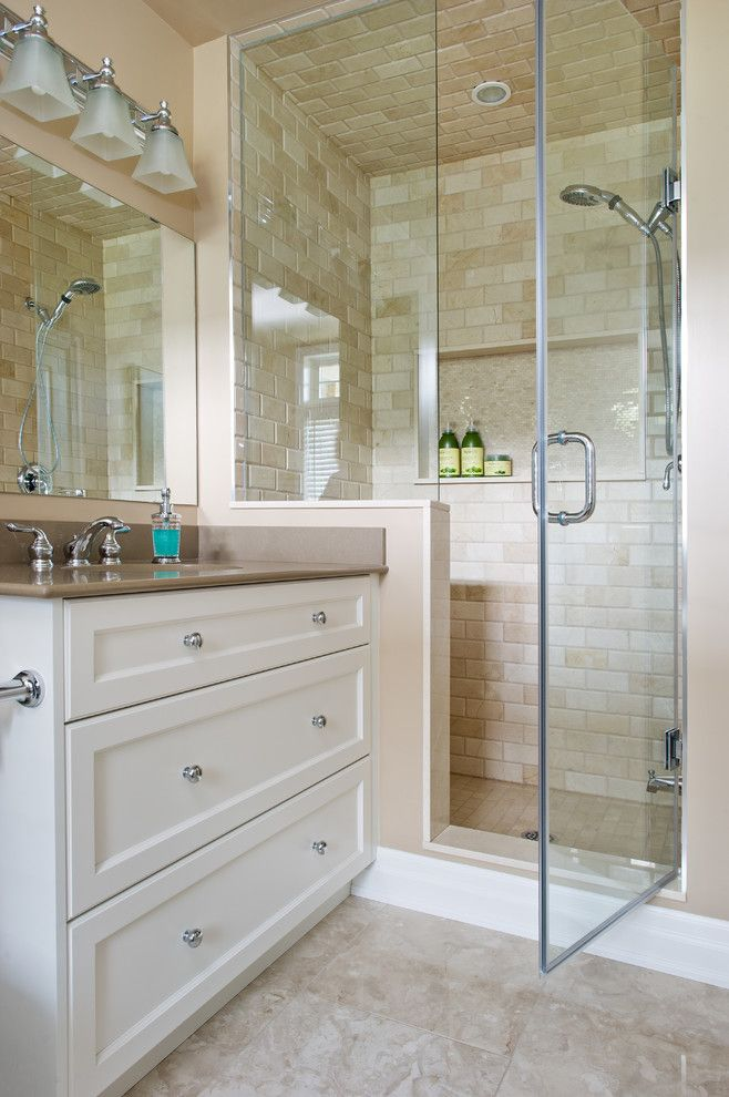 How to Install Prehung Door for a Traditional Bathroom with a Kitchen and Compass Way by Design Excellence