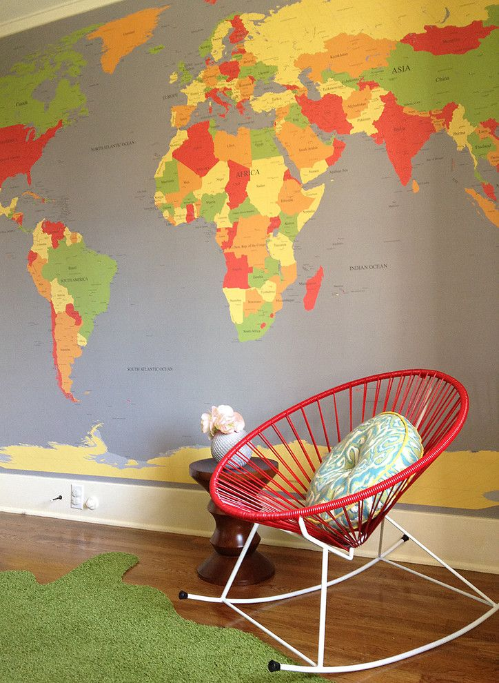 How to Remove Baseboard for a Contemporary Nursery with a Green and Modern Nursery by Benedict August