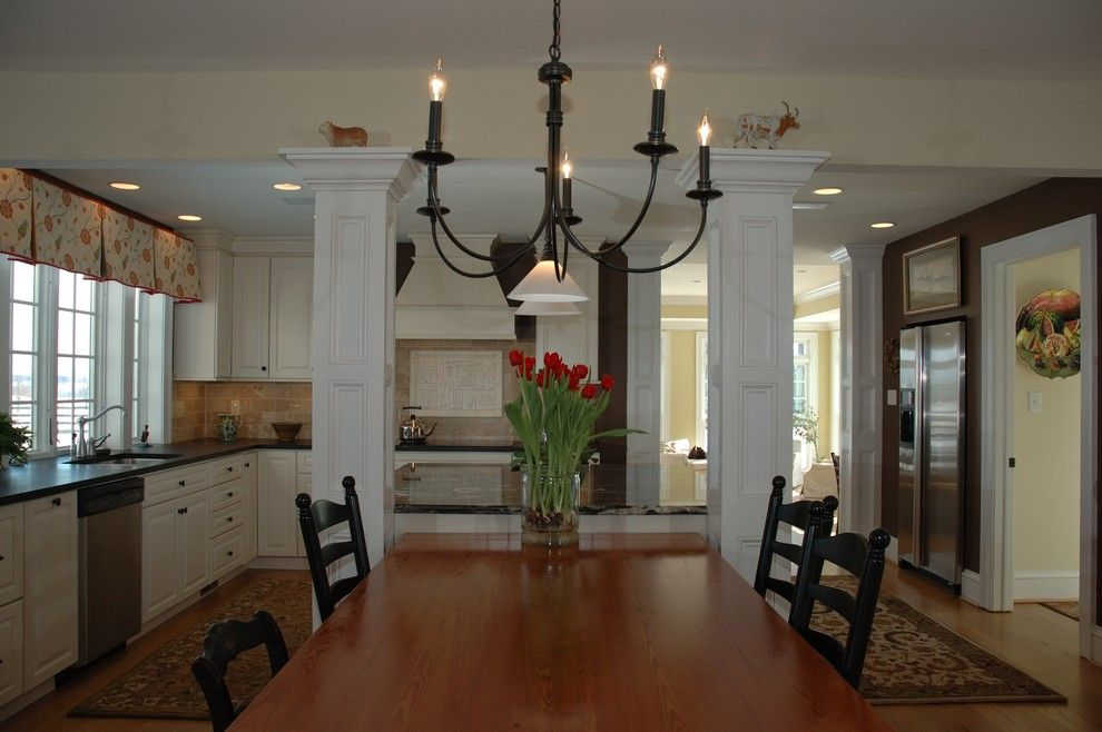 How to Remove Baseboard for a Traditional Kitchen with a Kitchen Hardware and Kitchen Remodeling, Berryville, Va by Julie Fifield