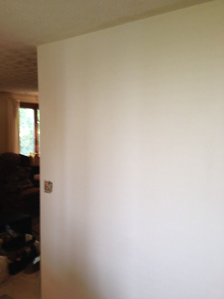 How to Repair a Hole in Drywall for a Traditional Spaces with a Wallpaper Stripping and Wallpaper Removal by Palumbo Painting