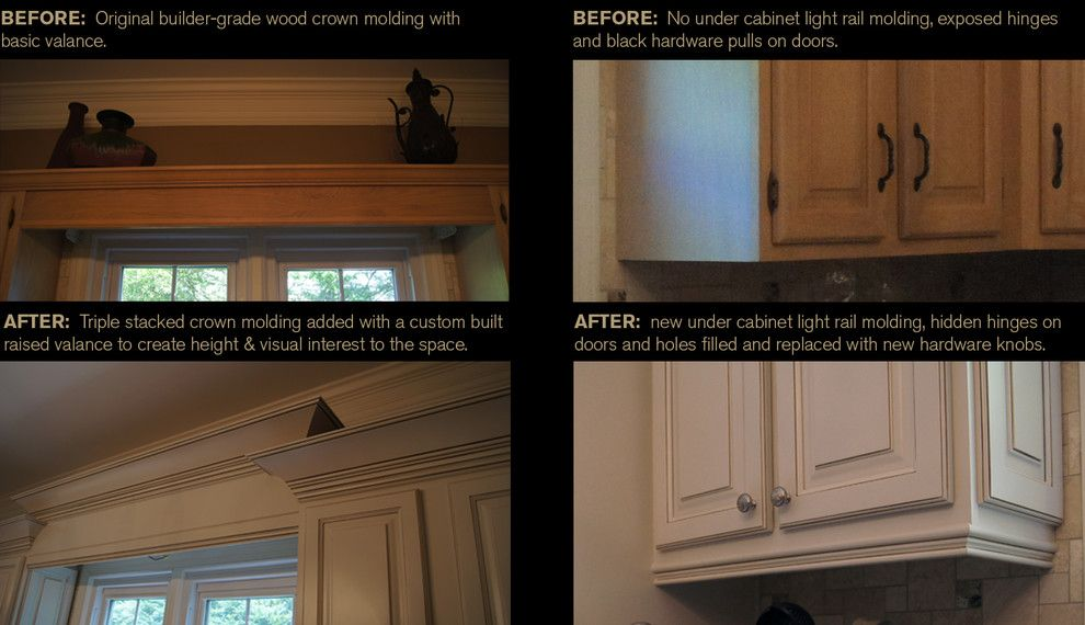 How to Restain Cabinets for a Traditional Kitchen with a Kitchen Cabinet Refinishing and Ccff