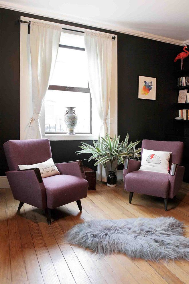 How to Rewire a House for a Eclectic Living Room with a Dust and Dust Design Project   Portobello Residence by Dust