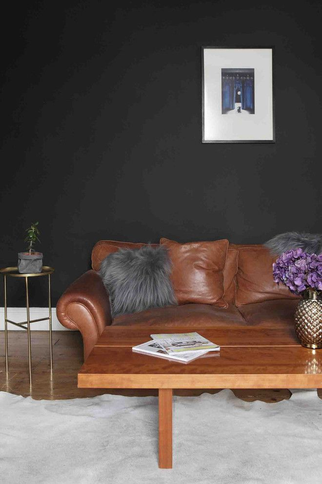 How to Rewire a House for a Eclectic Living Room with a Renovation and Dust Design Project   Portobello Residence by Dust