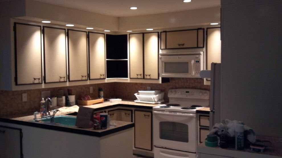 How to Sand Drywall for a Traditional Kitchen with a Cabinetry and Ellenville Flood House by E.j.fikar Contracting Llc