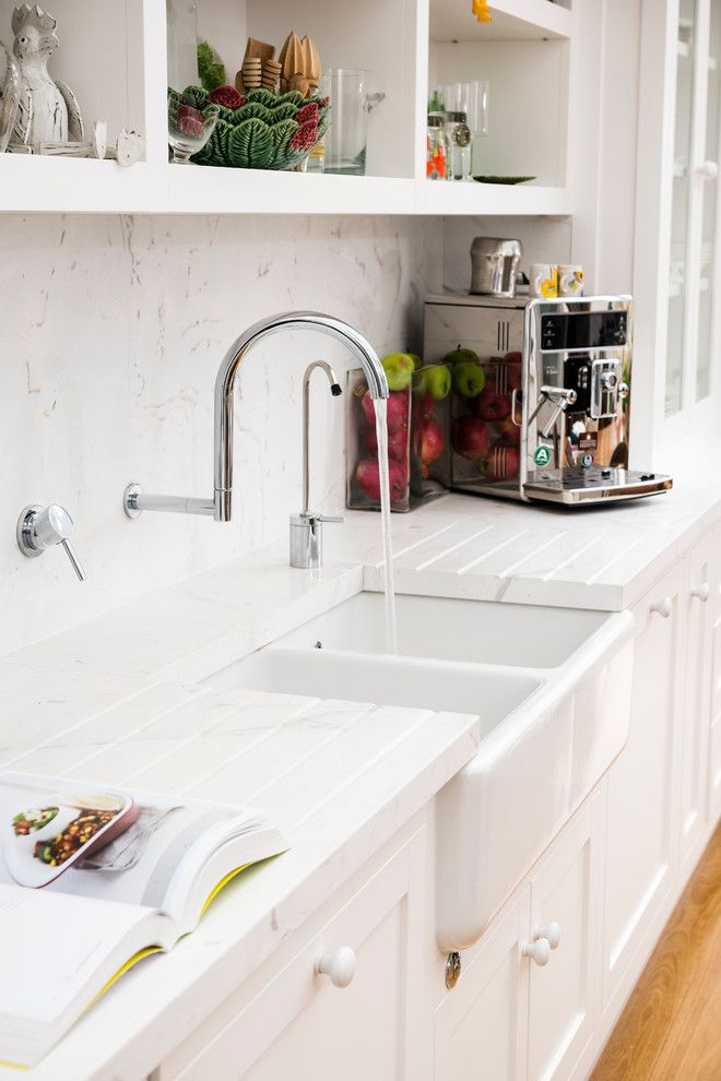 How to Unclog a Sink Drain for a Traditional Kitchen with a Traditional and Brighton Kitchen by Steding Interiors & Joinery