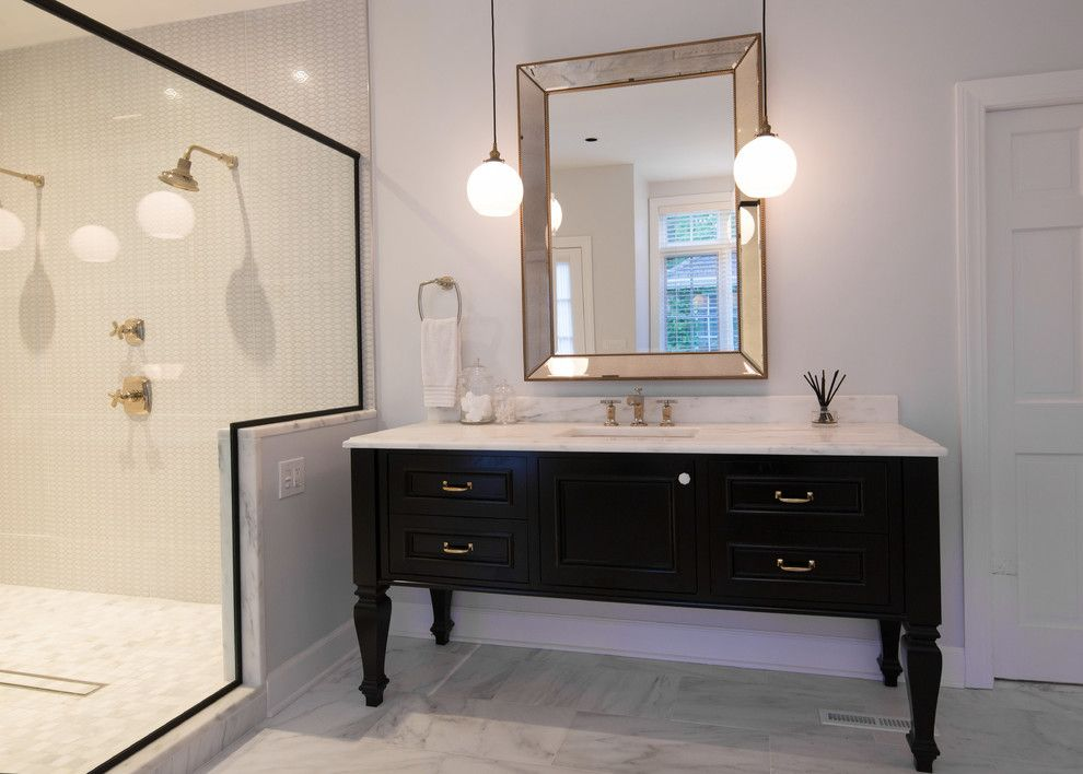 How to Unclog Shower Drain for a Transitional Bathroom with a Inset Tile and Ny Estate by a Perfect Placement